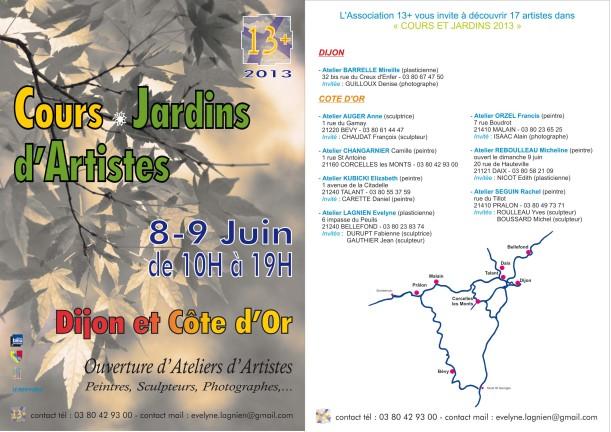 Cours et jardins Micheline Reboulleau