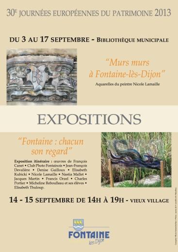Journée du Patrimoine à Dijon - Micheline Reboulleau